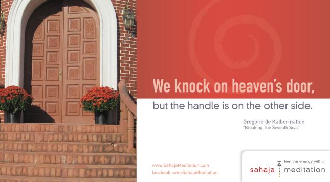 Indian_legend_Kundalini_Shri_Mataji_House_Heaven_door_Sahaja_Yoga_Meditation